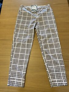 Somerset by Alice Temperley Patterned Trousers Size 10 Ladies Smart Look