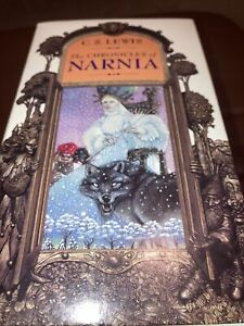 The Chronicles of Narnia C.S. Lewis Book Set 1-7 1994