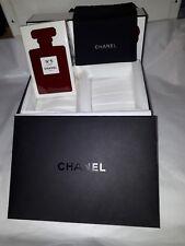 Chanel No 5 Eau de Parfum Ltd. Edit. Red 100 ml/3.4 oz. with presentation box
