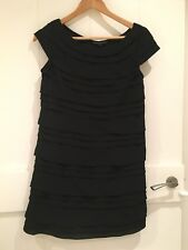 French Connection Penny's Party Dress, Black, size 8