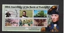 Solomon Islands 2005 Trafalgar 200th  Anniversary sheet UM (MNH)