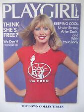 Playgirl Magazine  August  1977  Dan Delany Centerfold