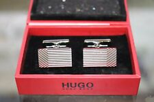 BNWT Hugo Boss Multilines Cufflinks MSRP $98!!