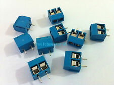20pcs 2 Pin Screw Terminal Block Connector 5mm Pitch B