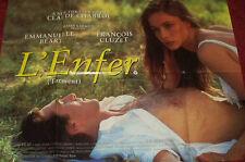Cinema Poster: L'ENFER (TORMENT) 1994 (Quad) Emmanuelle Béart