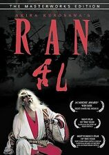 Ran ,Dvd, 2003, Masterworks Edition Digitally Restored Hi-Def Transfer, Kurosawa