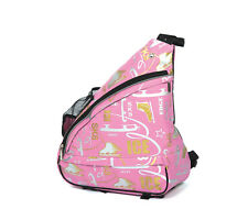Figure Skating Bags Shoulder Bag Jerry's 6002 Pink Grafitti