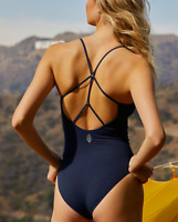 NEW Free People Movement Dance All Day Bodysuit Yoga in Navy  XS/S & M/L $56.56