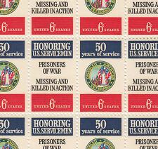 American Veterans Dav/Pow Stamp Sheet, Scott #1421-22, Mnh