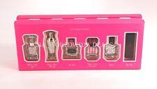 Victorias Secret 6 Piece Eau De Parfum Gift Set .25 oz