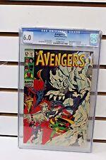 The Avengers #61 CGC 6.0 Comic Book 1969  Dr. Strange