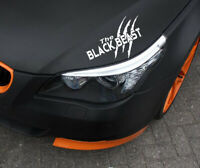 The Black Beast Auto Aufkleber Limited Edition Sticker Tuning Motorsport JDM
