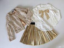 KIDPIK Stunning 3-Piece GOLD Set Size M 10 NWT