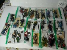 Gi Joe Modern Loose Figures Lot of 23 snake eyes cards complete cobra commander