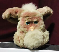 2005 Large Hasbro Tiger Furby Pink/Tan 59294 Blue Eyes  **PLEASE READ**