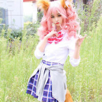 Anime  Fate/Fate Extella Tamamo No Mae Costumes Outfit Christmas Cosplay Dress