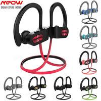Mpow Flame Bluetooth Headphones Waterproof Wireless Sport Earphones Earbuds IPX7