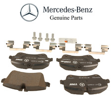 Mercedes R171 W203 CL203 A203 C209 A209 GENUINE Front Brake Pad Set With Shims