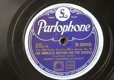 78rpm BENNY GOODMAN world is waiting for the sunrise / shine