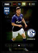 Panini 365 Adrenalyn XL 2017 Klaas-Jan Huntelaar Schalke FANS: Favourites No.63