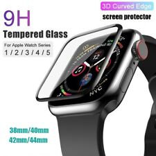 3D Tempered Glass Screen Protector for Apple Watch Series 5 4 3 2 38/40/42/44 mm