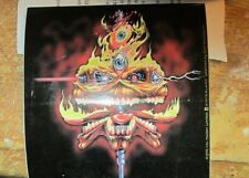 IRON MAIDEN STICKER COLLECTIBLE RARE VINTAGE 1999 METAL LIVE WINDOW DECAL
