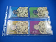 2015 ONE DOLLAR SET - MOB OF ROOS- PRIVY MARK P,S,M,B - LIMITED 5000 ISSUED -