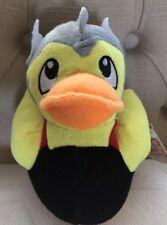 Fiesta Super Hero Ducky Plush Duck Plushie- Helmet Duckie (Viking Carnival Thor)