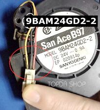 SANYO 9BAM24GD2-2 Projector  LCD large screen cooling fan DC24V 0.9A 97*97*33MM