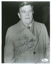 PAT HINGLE BATMAN COMMISSIONER JSA AUTHENTICATED SIGNED 8X10 PHOTO AUTOGRAPH
