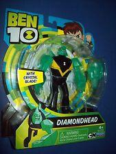 BEN 10 TEN 4' FIGURE ~ DIAMONDHEAD new on card for 2017