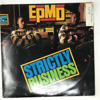 EPMD Strictly Business LP Vinyl Record Original First Pressing 1988 Hip Hop