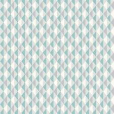 Rasch Harlequin Raya De Triángulo Verde Azulado Cocina Y Baño Papel Pintado