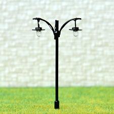 20 pcs HO/OO Lamppost warm white LEDs made street light Not Hot No Melt #L511