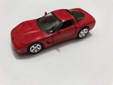 Road Champs 1/43 1997 Chevrolet Corvette coupe - RED