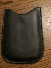 Original Blackberry Phone Case Black Leather Sleeve Holder