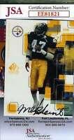 Mel Blount 1999 Upper Deck Jsa Coa Hand Signed Authentic Autograph