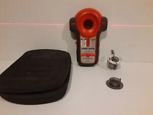 Black & Decker Bullseye Laser Level and Stud Finder Tested working BDL100S