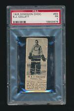 1924 V31 Dominion Chocolate ATHLETES #55 ERNIE COLLETT (Hockey) Canada Olympics