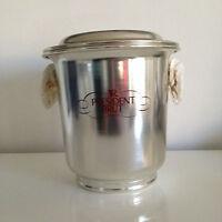New President Brut Ice Bucket Champagne Bottle cooler - Stainless Steel