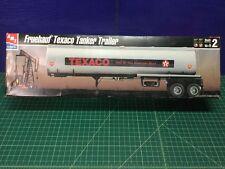AMT 1/25 Fruehauf Texaco Tanker Trailer Model Kit 30063 (Sealed Inside)