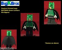 BATMAN GREEN LANTERN DC Custom Printed LEGO Minifigure NO DECALS USED!
