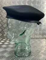 Genuine British Made Military Black General SD Issue Beret Cap NEW - All Sizes
