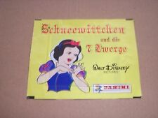 OLD SNOW WHITE & 7 DWARFS GERMAN PANINI CARDS / STICKERS UNOPENED