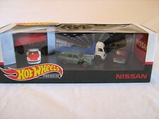 Hot Wheels Premium Nissan 4 Vehicle Diorama Set