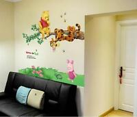 Disney Winnie the pooh Eeyore Removable Wall Stickers Decal home Kid room Decor