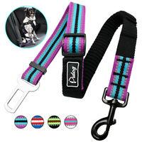 Adjustable Dog Car Vehicle Seat Belt Reflective Safety Seatbelt Harness Leash
