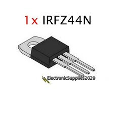 1 x IRFZ44N IRFZ44 MOSFET N-Channel 49A 55V 55 Volts- USA Fast Shipping