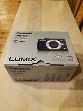 Panasonic LUMIX DMC-GX1 16.0MP Digital Camera - Black and Silver (Body Only)