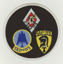 USAF patch 37 Tactical Fighter wing gaggle F4G Phantom George AFB